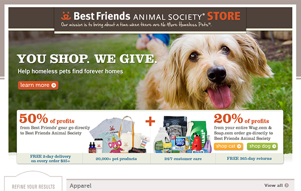 Best Friends Animal Society Stores