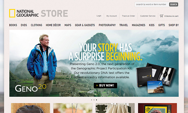 National Geogrphic Store