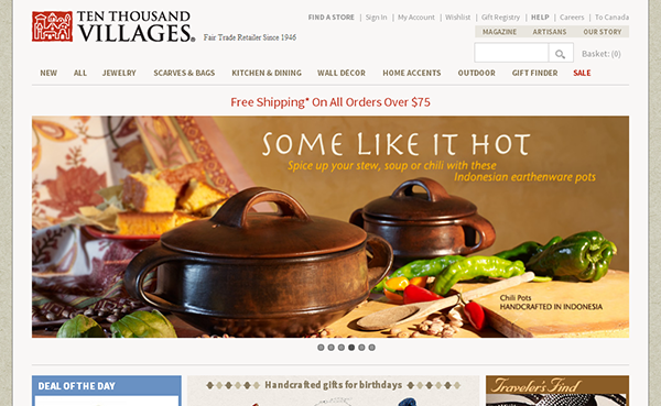 Ten Thousand Villages Store