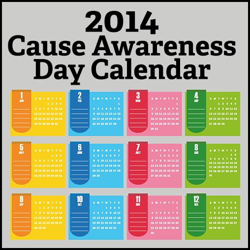 Monthly Calendar Health Awareness : Health awareness month calendar just b use