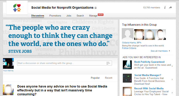 LinkedIn for Nonprofits 1