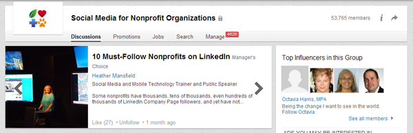 LinkedIn for Nonprofits 2