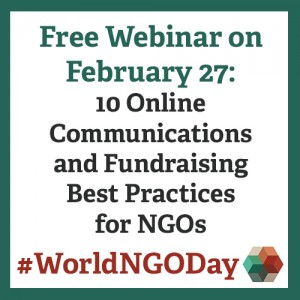 World NGO Day Webinar Graphic