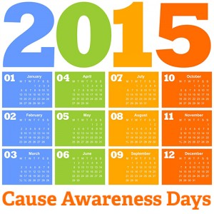 2015 Cause Awareness Days