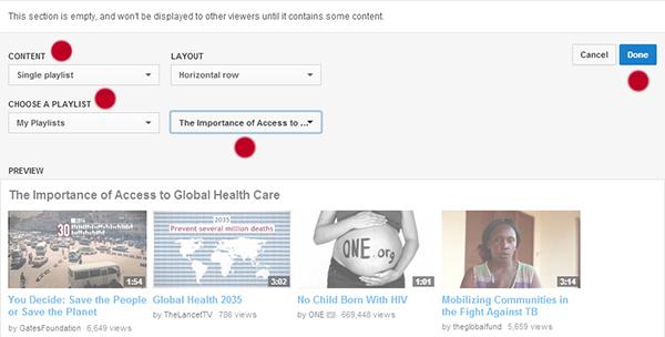 YouTube Nonprofits Four