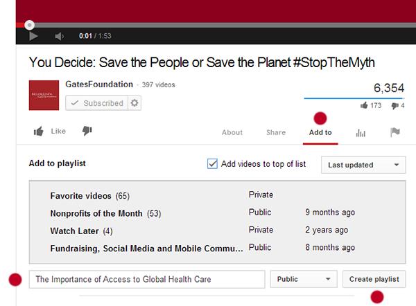 YouTube Nonprofits One