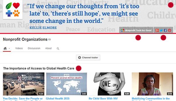 YouTube Nonprofits Seven