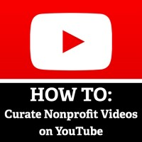 YouTube Playlists Nonprofits