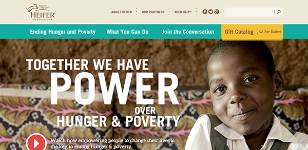Heifer International Responsive