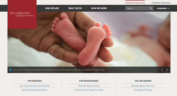 gates foundation responsive