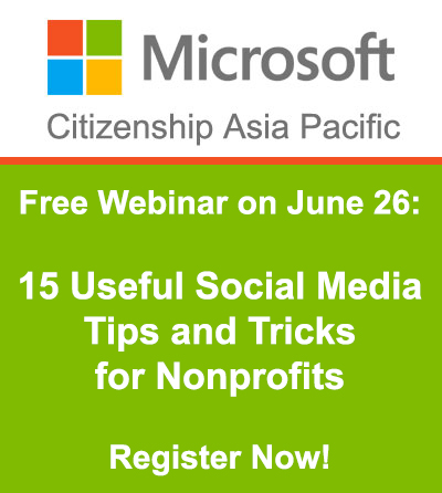 Free Webinar on June 26: 15 Useful Social Media Tips and Tricks for Nonprofits