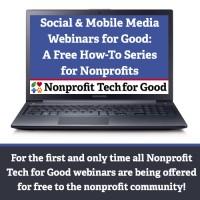 Free Nonprofit Webinars Social Media Square