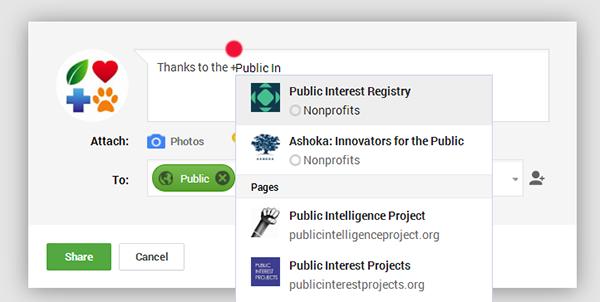 Public Interest Registry on Google+