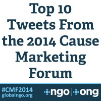 Top 10 Tweets from Cause Marketing Forum