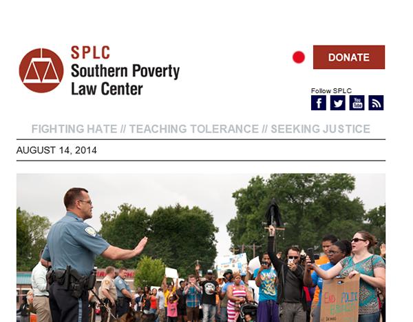 SPLC Email Newsletter