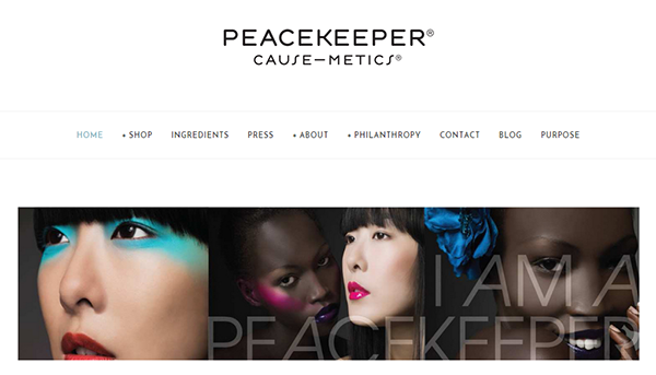Peacekeeper Causemetics
