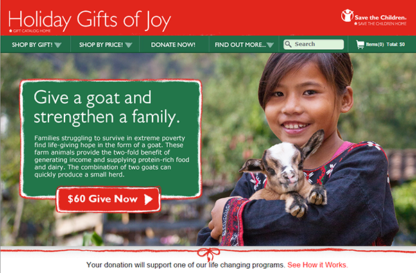 Save The Children Gifts of Joy