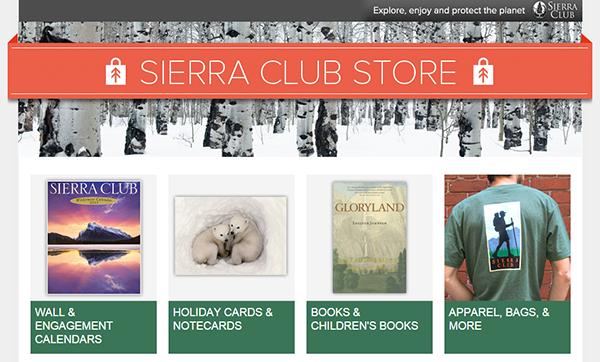 Sierra Club Store