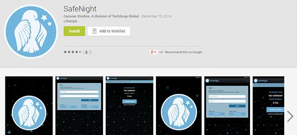 safe night google play