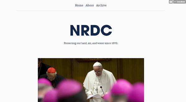 NRDC Tumblr
