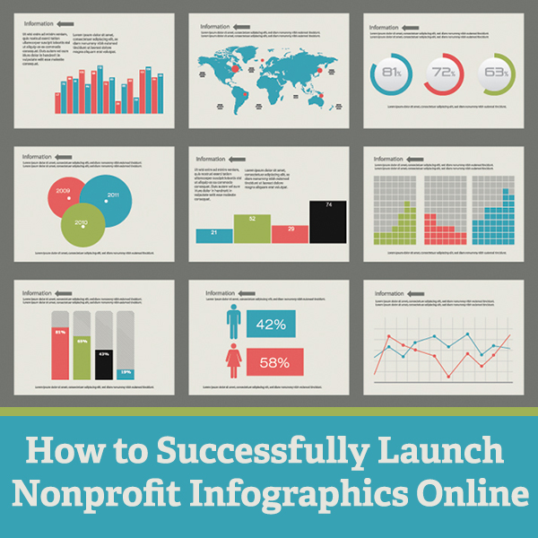 How to Successfully Launch Nonprofit Infographics Online