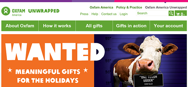 Oxfam Unwrapped