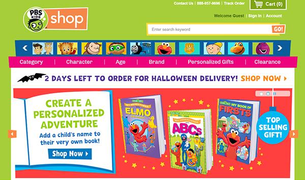 PBS Kids Store 2