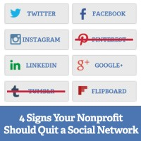 4 Signs Your Nonprofit Should Quit a Social Network Square