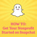 How to Get Your Nonprofit Started on Snapchat Facebook Pink
