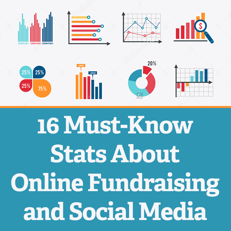 16 must know stats about online fundraising and social media