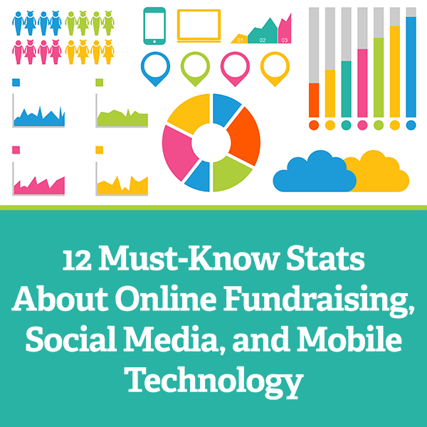 12 must know stats about online fundraising social media and